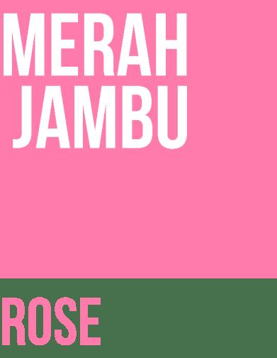 MERAH JAMBU - Les couleurs en indonésien, Bahasa Indonesia - Balisolo