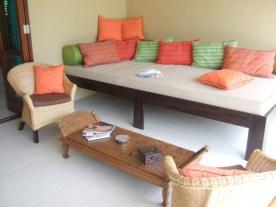Terrasse - Villa Teva à Kerobokan - Balisolo (1)