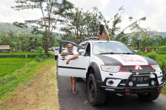 Baksos , les sorties du IPCB (Indo Pajero Community Bali) (1)