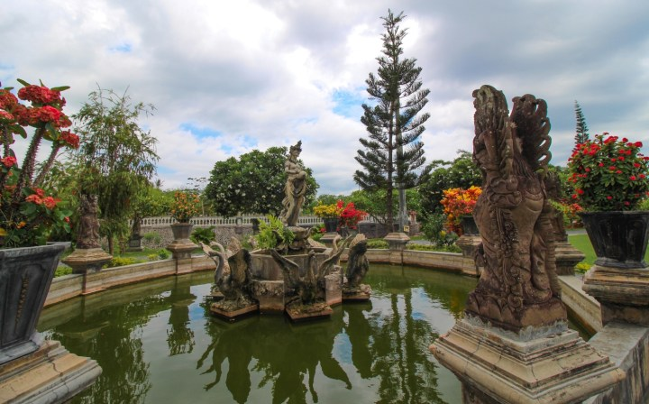 La fontaine Kolam Air Mancur