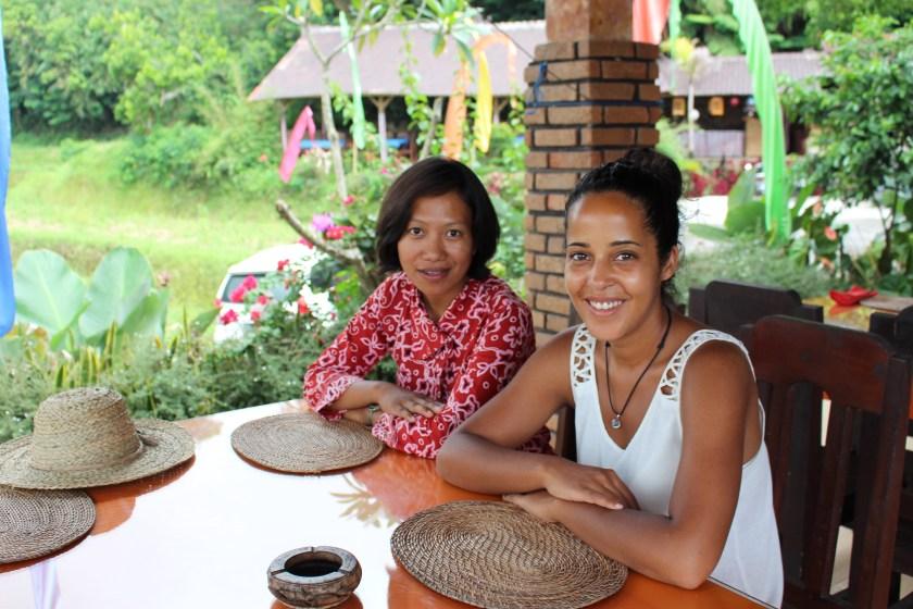 Esti Wijaya, guide francophone à Bali