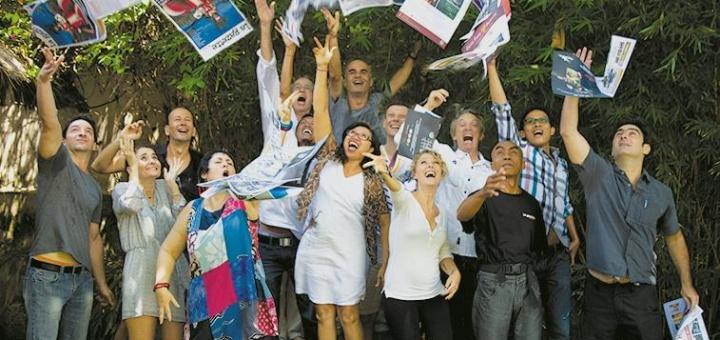 equipe la gazette de bali 2015