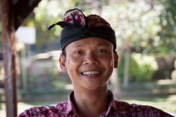 Agung Sayang, guide francophone à bali