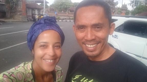 Echo Santoso, guide francophone a Bali et Jenni de Balisolo