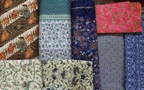 Les tissus de Toko Ada boutique indonesienne (3)