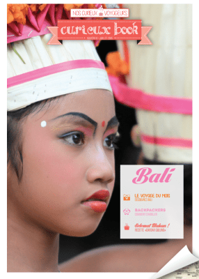 Cover - Curieux Book Bali