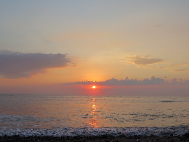 Sunset a Medewi avec Agus - Balisolo 2015115
