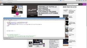 Confronto tra il sorgente di verybello.it e il contenuto di themixxie.com