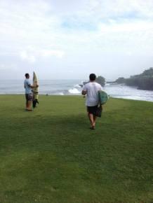nirwana bali, golf course, tanah lot