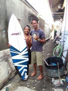 bali, surf board, surfing
