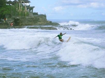 Tanah Lot Beach Best Surf Spot
