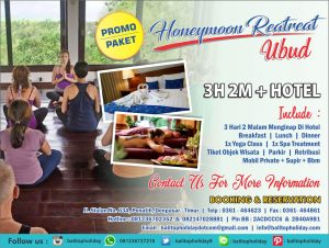 Paket Honeymoon Bali Yoga Retreat