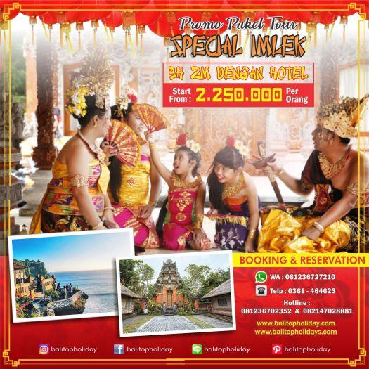 Paket Imlek 3H 2M Bali Culture Start From