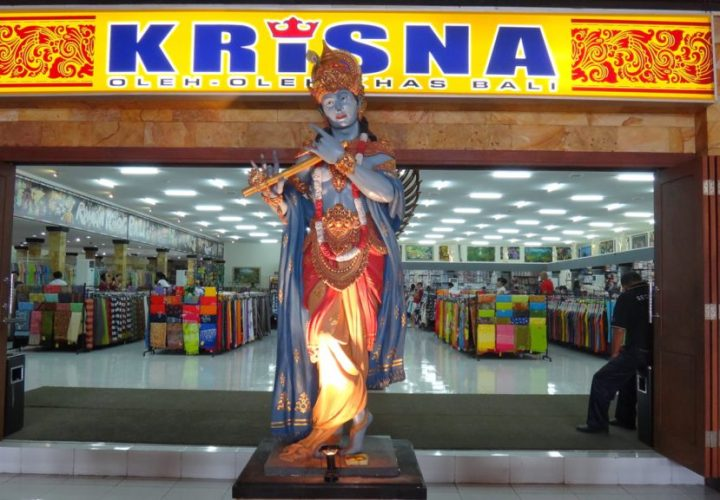 Krisna Shopping Place Typical Souvenirs of Bali