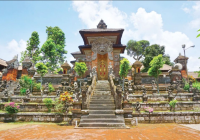 Given the existence of the Samuan Tiga Temple in Ubud