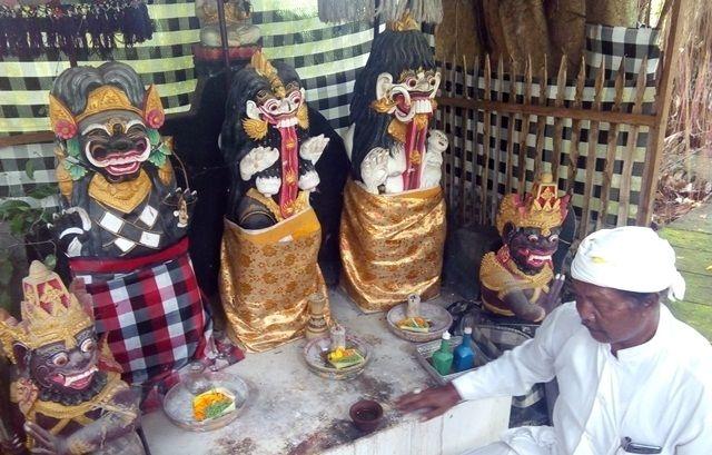The legend of Ratu Gede Mas Mecaling