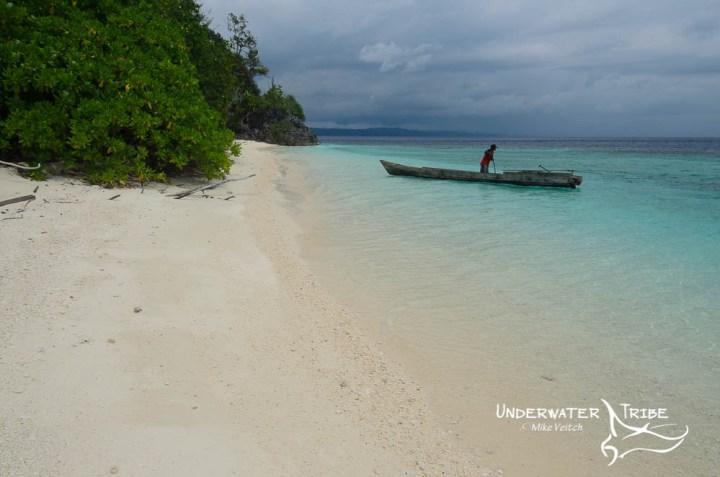 Fisherman and Storm, Raja Ampat