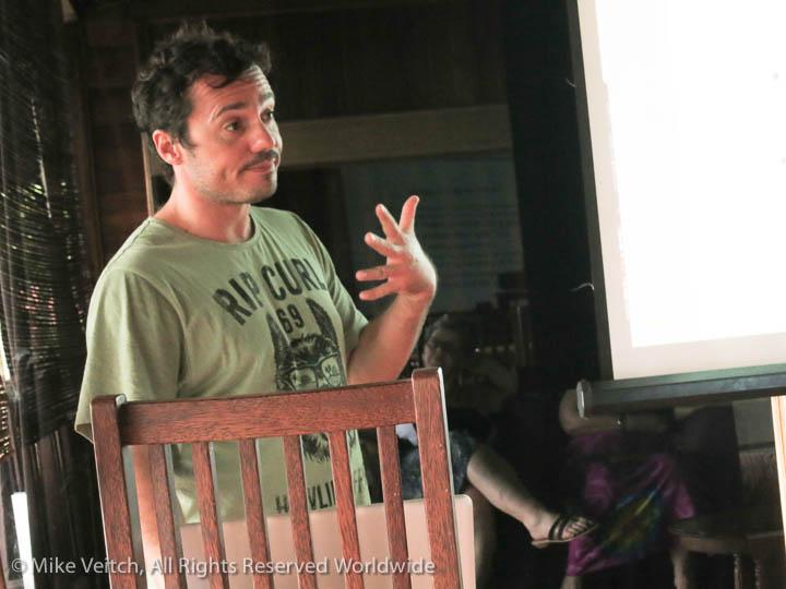 Luca Presenting