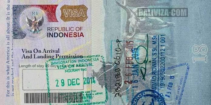 Visa On Arrival Voa Baliviza Com
