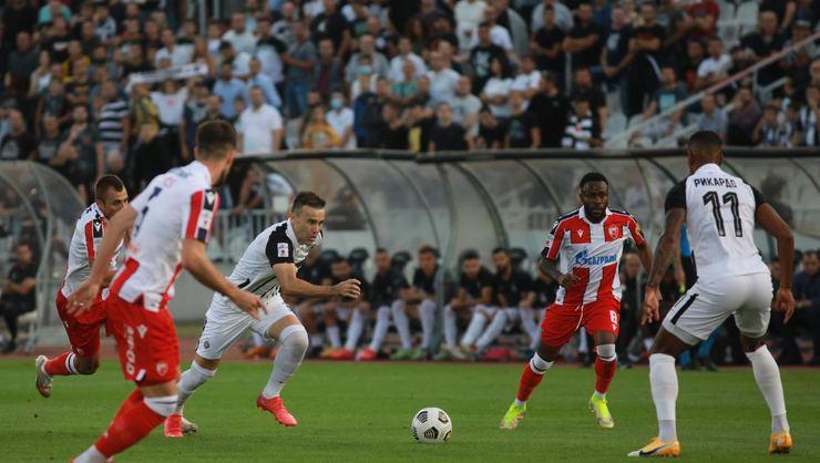 Belgrad derbisinde Partizan ve Kızılyıldız yenişemedi