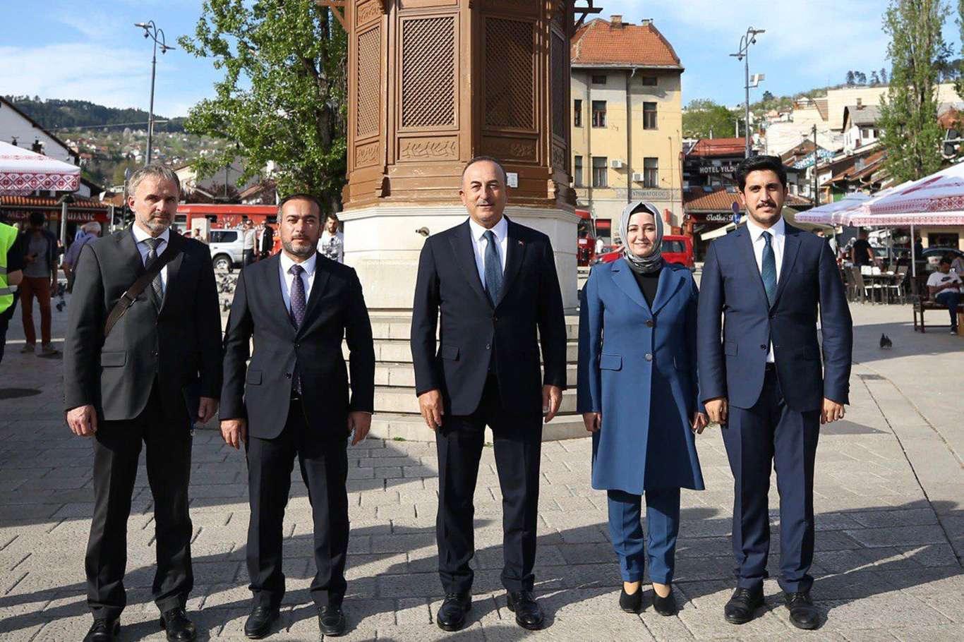 AK Parti Diyarbakır İl Başkanı Aydın'danBosnaHersek'e ziyaret