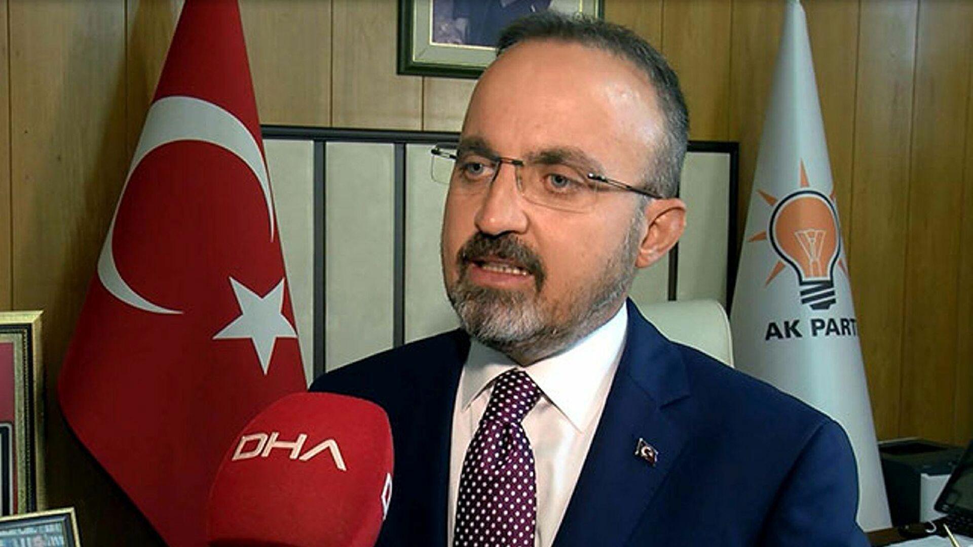AK Partili Bülent Turan'dan 'fahiş fiyat' açıklaması:  Kaptanımız sağlam, bunu aşacak olan biziz