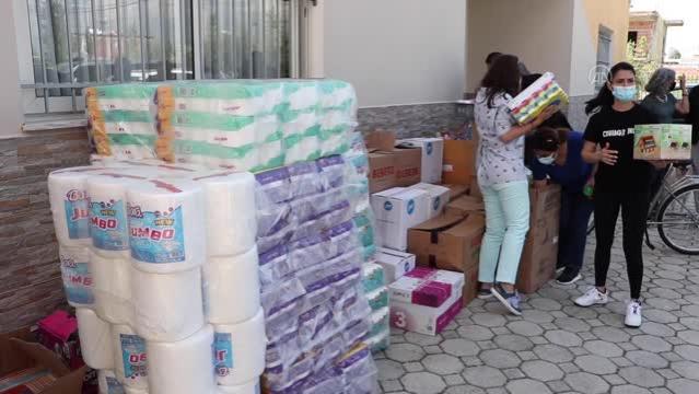 Arnavutluk-Türkiye Ticaret ve Sanayi Odası, Tiran'daki engelli çocuklara yardımda bulundu
