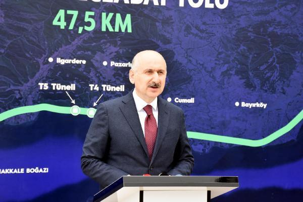 Bakan Karaismailoğlu: Ulaştırma, haberleşme altyapısı için 1 trilyon lira yatırım yapıldı