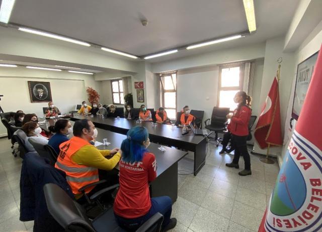 Balçova'da afetlere karşı AKUT ile iş birliği
