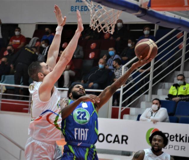 Basketbol Süper Ligi: Aliağa Petkim: 62 TOFAŞ: 83