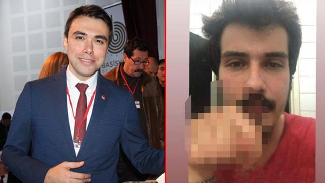 CHP'li genç, partisinin İlçe Başkanı'na el hareketi çekip, hakaret etti