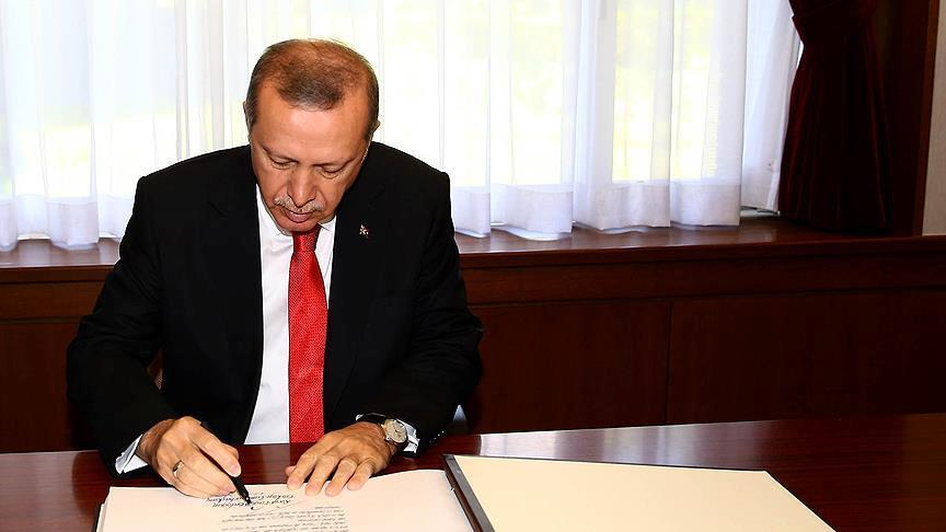Cumhurbaşkanı Erdoğan 12 kanunu onayladı