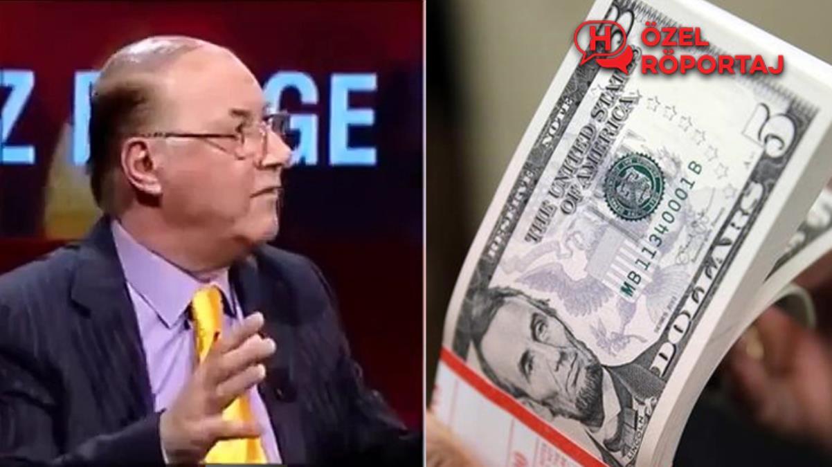 """Doların ateşi nasıl düşer? """"Şakkadak"""" çıkışıyla bilinen ekonomistten Haberler.com'a çok özel açıklamalar"""