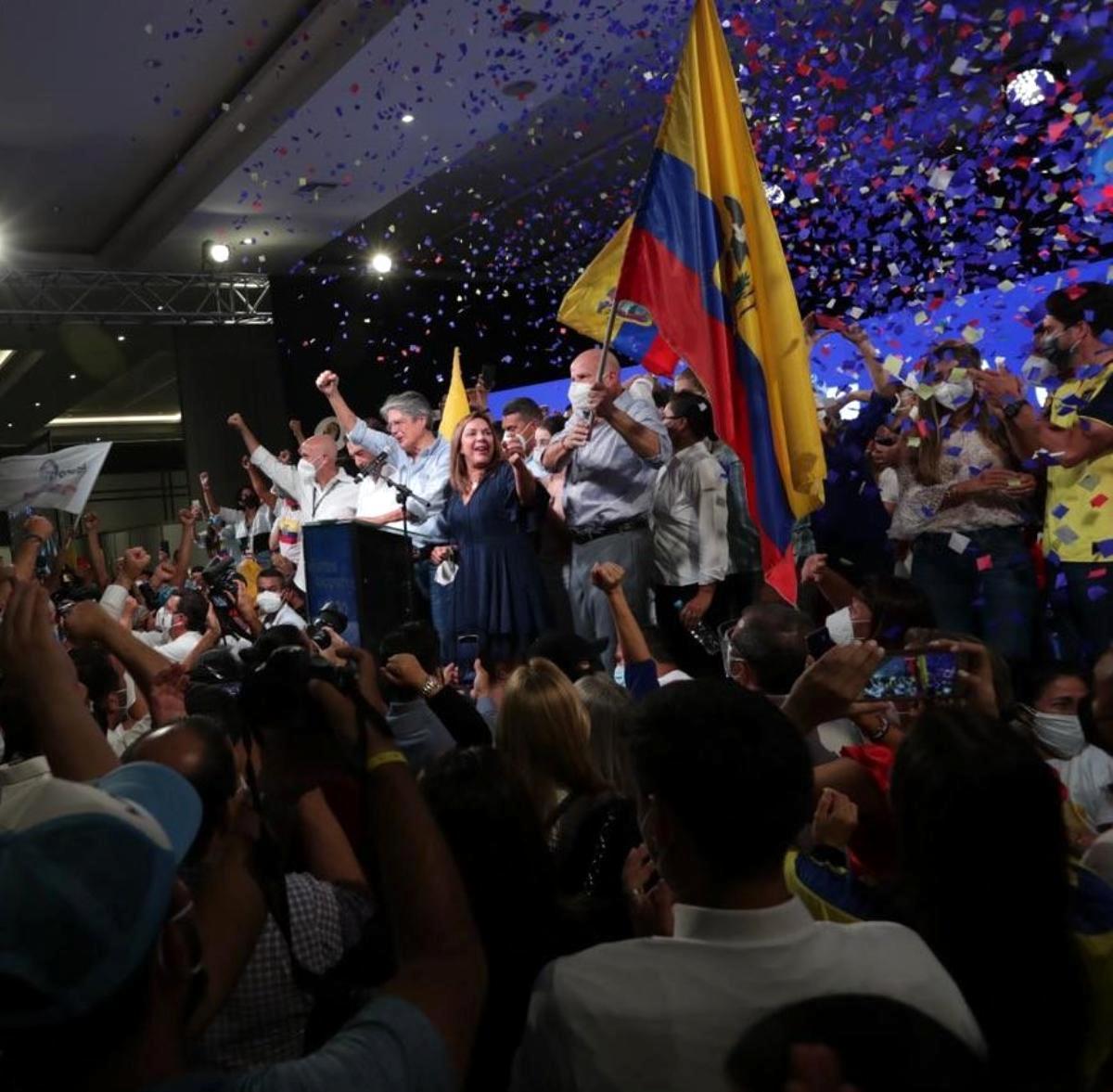 – Ekvador'da yeni Devlet Başkanı Guillermo Lasso oldu