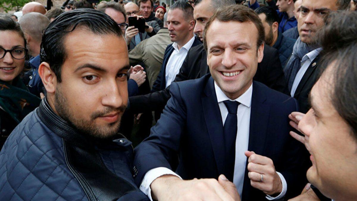 Emmanuel Macron'un eski yakın koruması, evrakta sahtecilikten yargılanacak