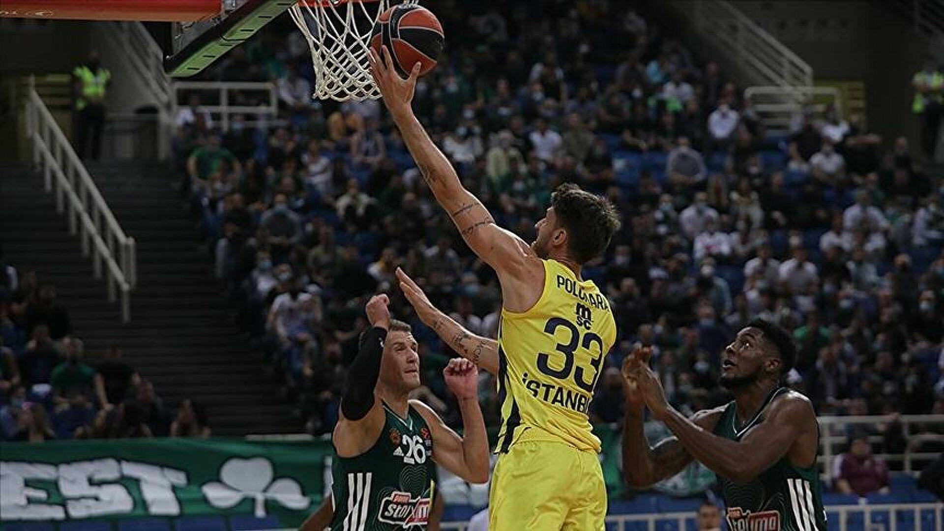 Fenerbahçe Beko, Yunanistan'da sonunu getiremedi