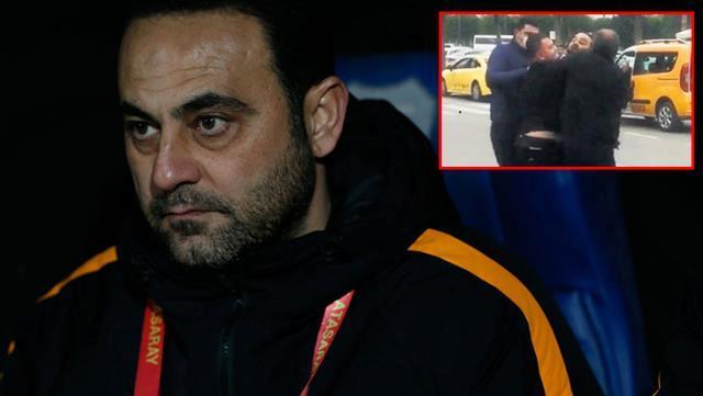 Galatasaray'ın eski antrenörü Hasan Şaş, havalimanında bir vatandaşla tartıştı