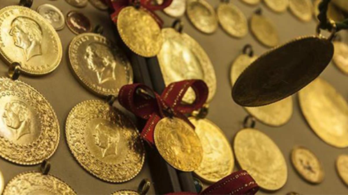 Güne düşüşle başlayan gram altın 414 liradan işlem görüyor