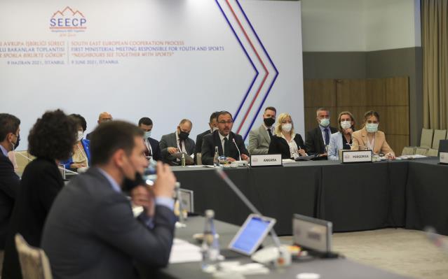 Güneydoğu Avrupa İş Birliği Süreci Gençlik ve Spordan Sorumlu Bakanlar Toplantısı, İstanbul'da yapıldı