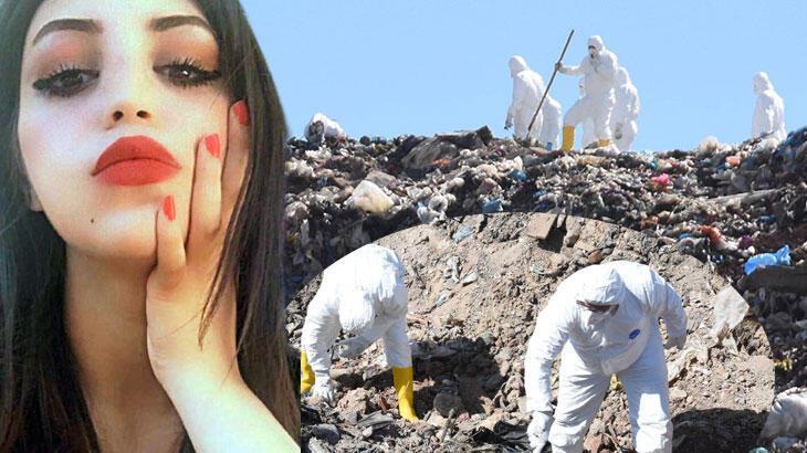 Iraklı Sally, şehir çöplüğünde de aranıyor