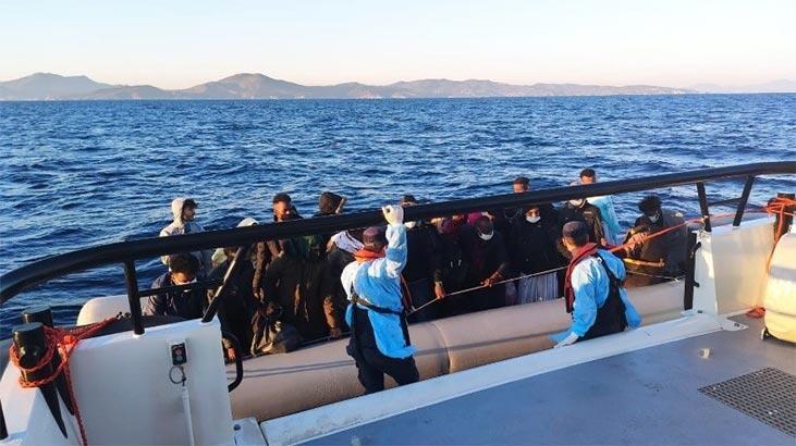 İzmir'de 131 kaçak göçmen kurtarıldı