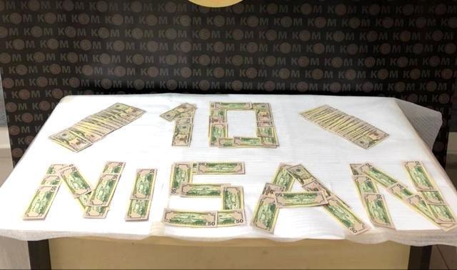 İzmir'de sahte 10 bin ABD doları ele geçirildi, 3 kişi tutuklandı