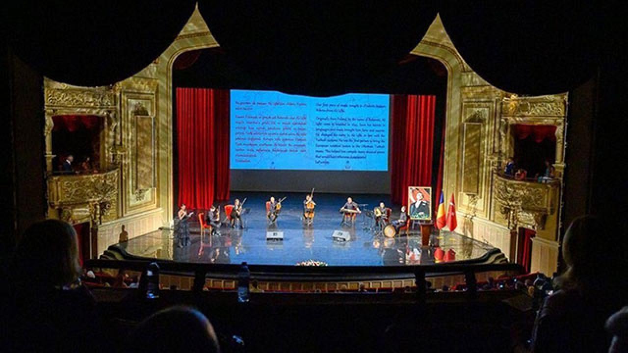 """Bükreş Ulusal Operasından """"Valsler ve Peşrevler"""" konseri"""