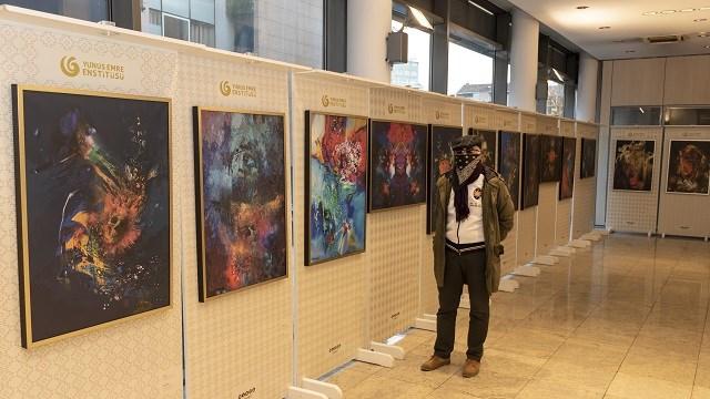 """Saraybosna'da """"Kovid-19 Sanat Sergisi"""" açıldı"""