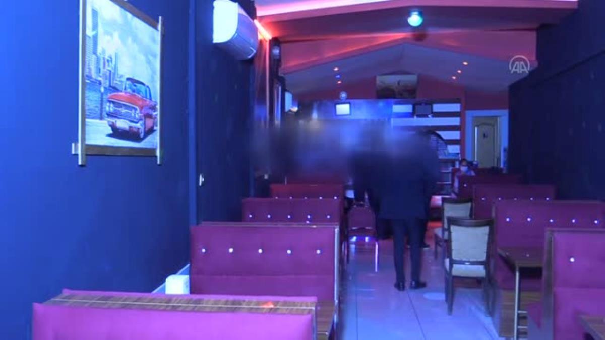 Kovid-19 tedbirlerine uymayan eğlence mekanı ve müşterilerine 177 bin lira ceza