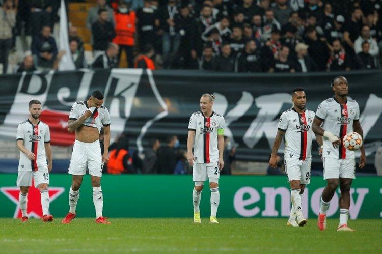 UEFA Şampiyonlar Ligi nde Temsilcimiz Beşiktaş'dan Kayıp