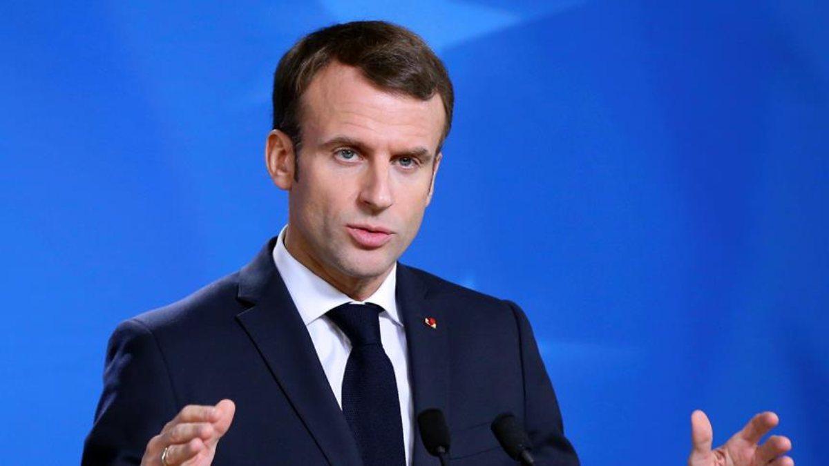 Macron: YPG'yi vuran Türkiye, NATO'yu zora soktu