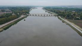 Meriç Nehri'nin debisi son yağışlarla 5 kattan fazla arttı