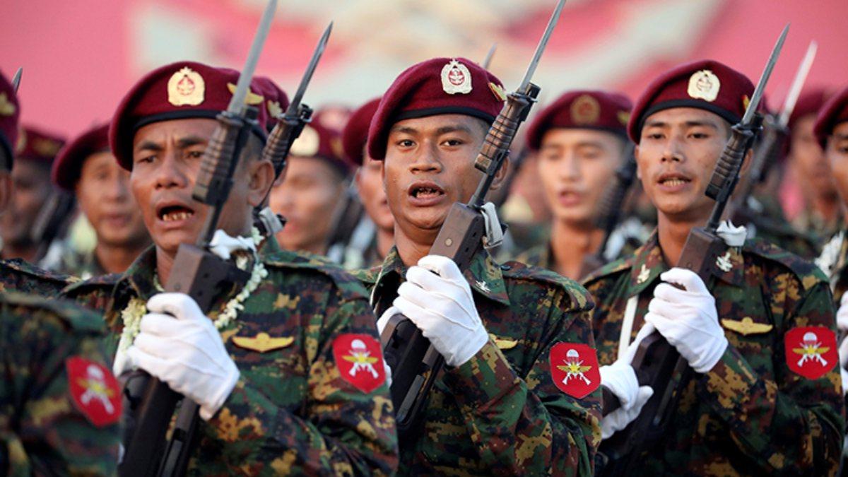 Myanmar'da iktidar partisinden halka çağrı: Askeri diktatörlüğe izin vermeyin