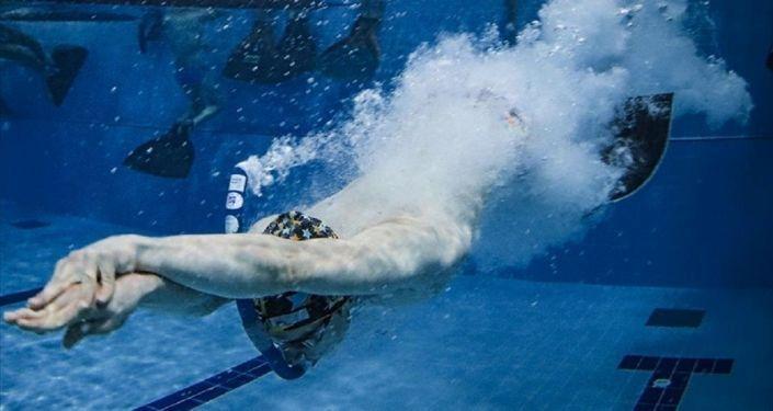 Paletli yüzmede Türk sporcu Kaan Kahraman, dünya ikincisi oldu